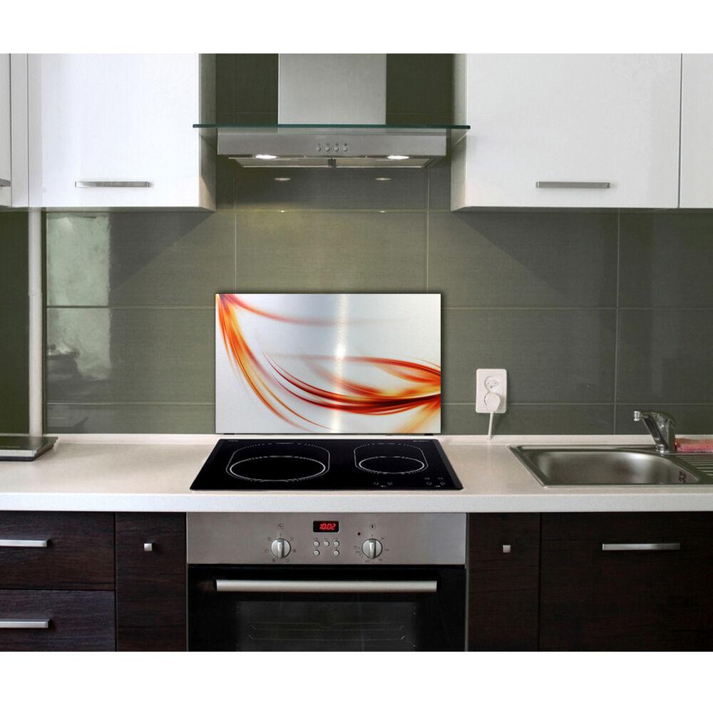 abstrakt metallic fliesenspiegel spritzschutz k chenr ckwand k che kochen herd eur 39 95. Black Bedroom Furniture Sets. Home Design Ideas