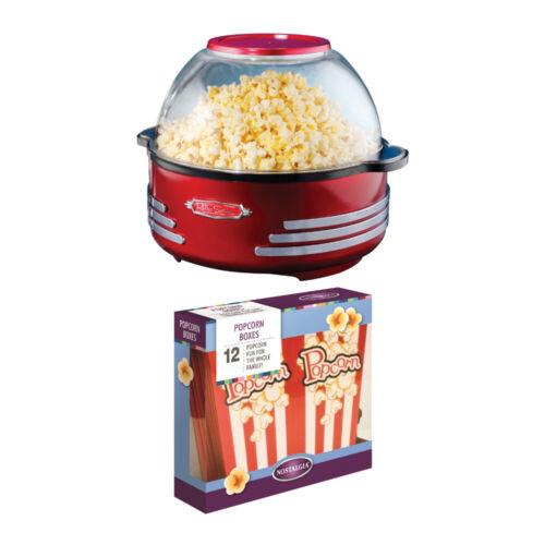 Nostalgia Move Night In 6-Quart Retro Stirring Popcorn Maker