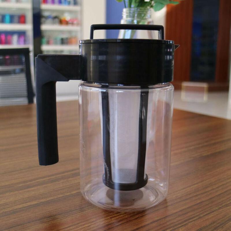 900ML Home Cold Brew Coffee Maker Airtight Seal Silicone Han