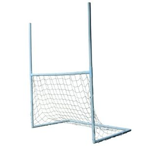 Woodworm 2 in 1 Rugby Football Goal Post Set
