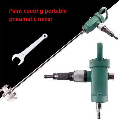 250l Pneumatic Paint Mixer Ink Coating Mixing Tool Blender Air Agitator Wstand