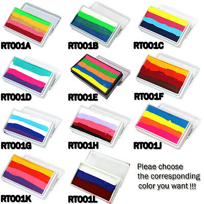OPHIR Rainbow Body Paint Face Paint Makeup Pigment 30g/se Multicolor 4 Halloween](Rainbow Face Paint Halloween)