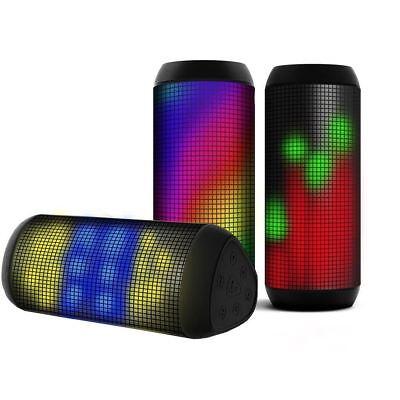 H.E T900 Altavoz Bluetooth Inalámbrico Portátil Potente Reproductor de Música