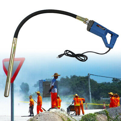 800w Hand Held Concrete Vibrator Power Construction Tool To Remove Air Bubbles