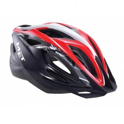 Met Xilo Carretera Bicicleta y Montaña Trial Ciclo de Casco - Rojo...