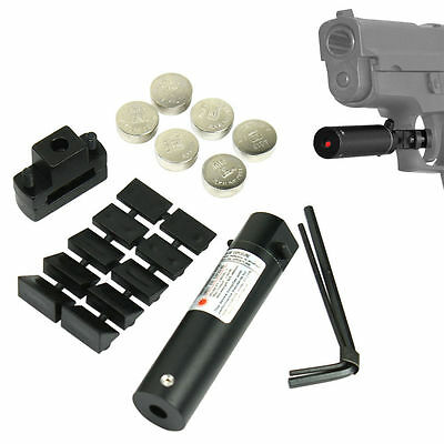 (Red Dot Laser Scopes Universal Compact Red Laser Sight With Trigger Guard Mount)