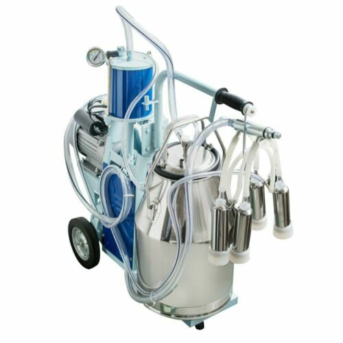 Used 110V Stainless Steel Piston Milker Electric Milking Machine for Cows/Goats