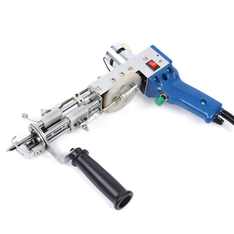 50W Electric Tufting Gun Carpets Weaving Flocking Machine 3000-5000RPM 9-21MM US