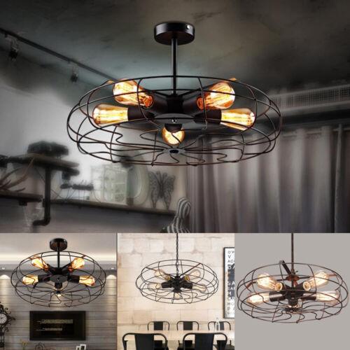 Vintage Industrial Ceiling Light Pendant Lamp Chandeliers Me