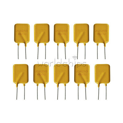 10pcs 0.65a250v 650ma Polyswitch Resettable Fuse Poly Switch Fuses Polyfuse