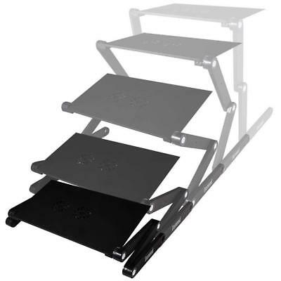 Ouneed Laptop Stand with Cooling Fan, Adjustable Desk for Bed, Mouse Tray...