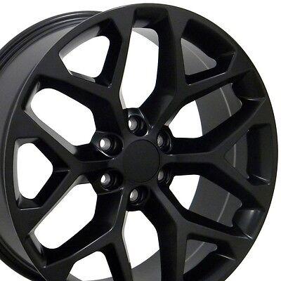 GMC Sierra Wheel Touch Up Paint Matte Black Flat