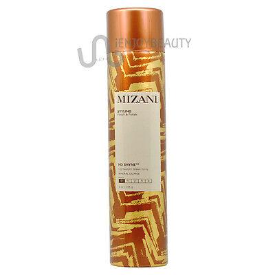Mizani HD Shyne Lightweight Sheen Spray Oil-Free 9 oz w/Free Nail File