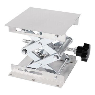 Lab-lift Lifting Adjustable Platform Stand Rack Scissor Lab Stainless Steel 4x4