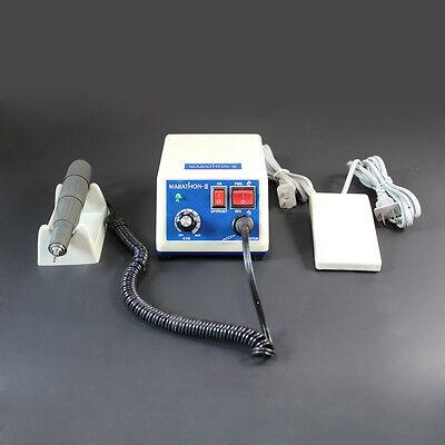 Dentist Lab Marathon Handpiece 35k Rpm Electric Micromotor Polisher 10drills Bur