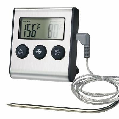 Digital Meat Thermometer Barbecue Cooking Oven BBQ Grill Temperature w/ Probe US