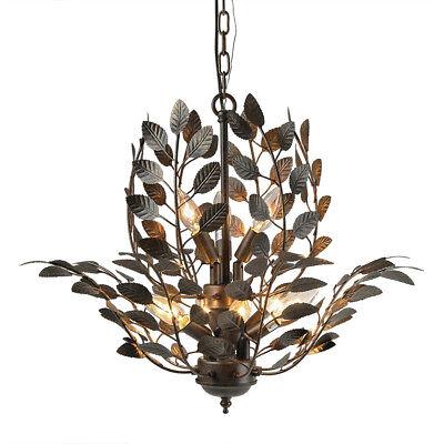 LNC 9 Leaves Indoor Pendant Lighting (Leaf Chandelier)