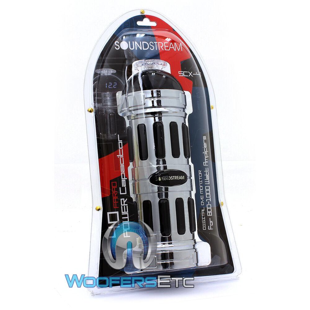 pkg soundstream scx farad capacitor gauge amplifier wiring pkg soundstream scx4 farad capacitor 4 gauge amplifier wiring install wire kit 4 4 of 8