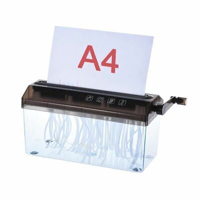 A4 9 inch Shredder Manual Hand Paper Shredders Document File Handmade Straight