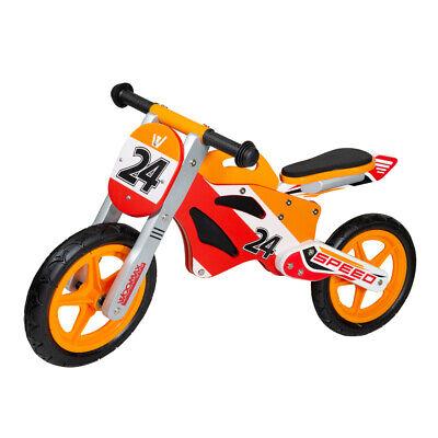 Moto de madera tipo MotoGp Bici sin pedales para niños 2 -...