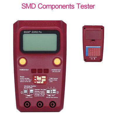 Digital-SMD-Komponente Transistor Tester Kondensator ESR Pro Induktivität Gerät