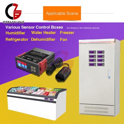 Sht2000 Ac110230v 10a Temperature Humidity Hygrometer Thermostat Control Sensor