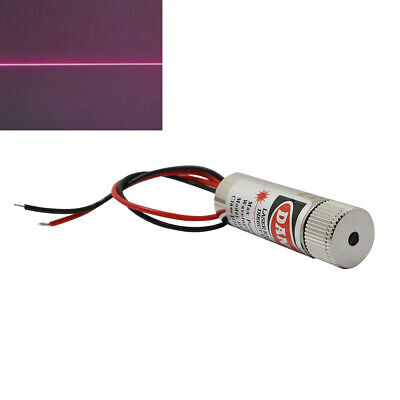 650nm 5mw Adjusted Red Laser Line Diode Module 12x40mm Glass Collimating Lens