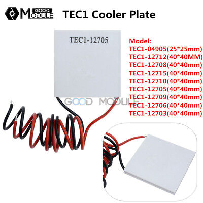 Tec1 1270312715 Heatsink Thermoelectric Cooler Cooling Peltier Plate 40x40mm