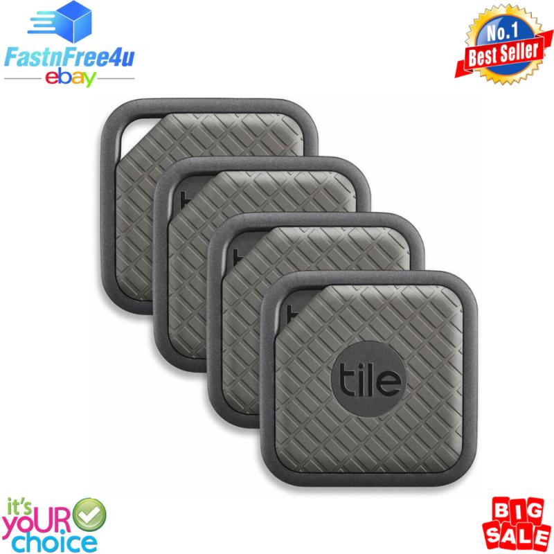 Tile Sport - Key Finder. Phone. Anything Graphite 4-Pack Wat