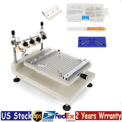 High Precision Manual Stencil Print Solder Printer 3040 Solder Paste Printing Us