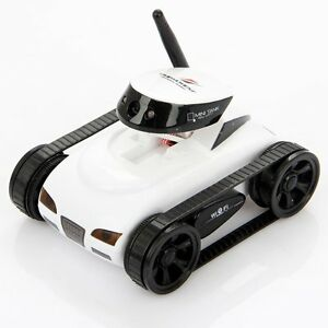 I_spy Mini Wilreless Spy Tank Rc Car with 0.3mp Hd Camera