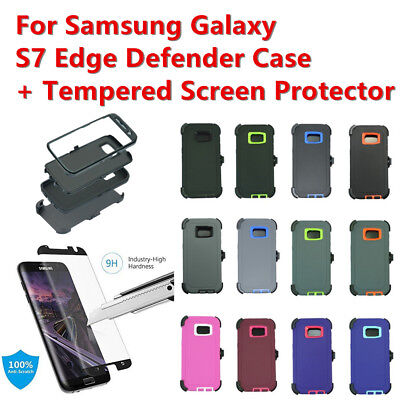 For Samsung Galaxy (S7 Edge) Case Cover Shockproof (Fits Otterbox Defender