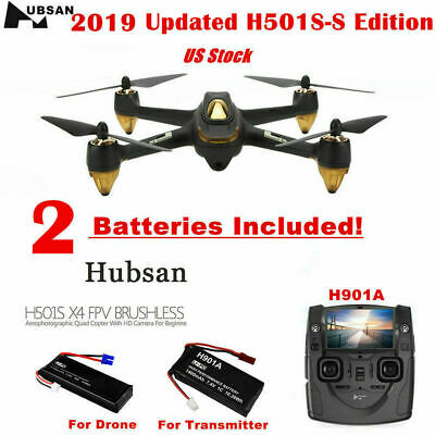 Hubsan X4 H501SS Drone Brushless Quadcopter W/1080P HD Camera 5.8G Video GPS RTF