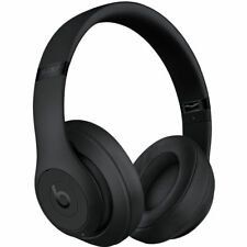 Beats by Dr. Dre Studio3 Wireless Matte Black Over Ear Headphones MQ562LL/A