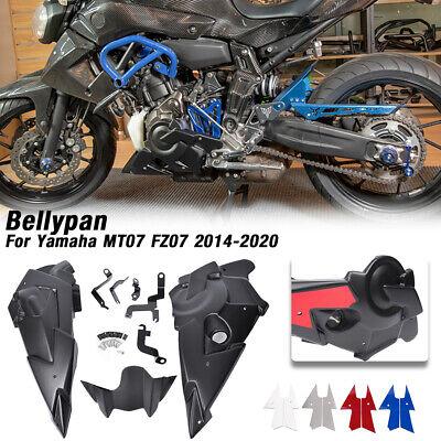 Belly Pan Engine Spoiler Lower Fairing Body Kit For Yamaha MT07 FZ-07 2014-2020