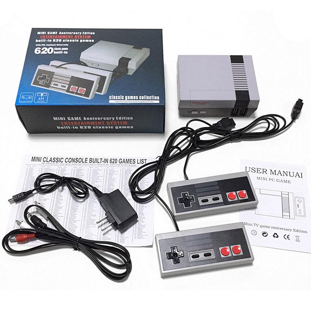Mini Classic Edition Game Console +620 Classic Games Enterta