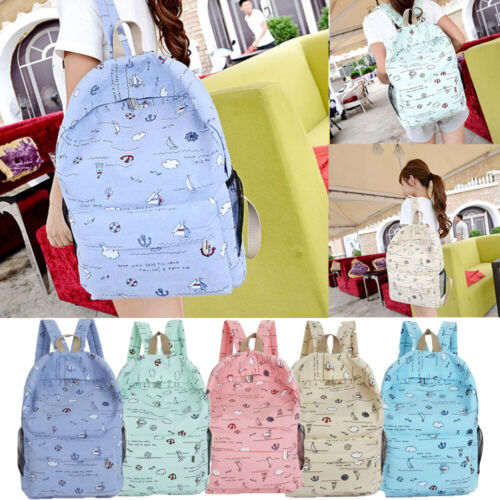 us fashion waterproof women backpack korean girls