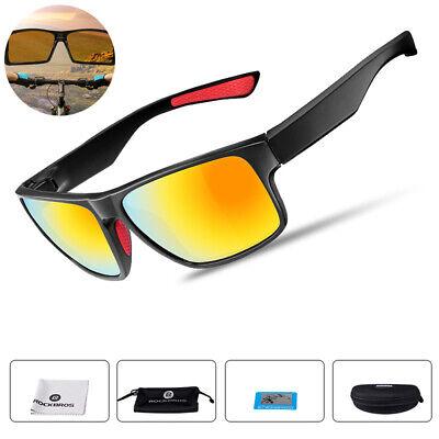 ROCKBROS Polarized Sunglasses Cycling Glasses Outdoor Sports Goggles 100/% UV400