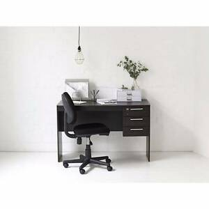 Officeworks Watson Desk Chocolate Mentone Kingston Area Preview