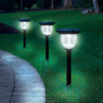 One Best Solar LED Walkway Pathway Light Black 60 Lumens  Best Solar Walkway Light