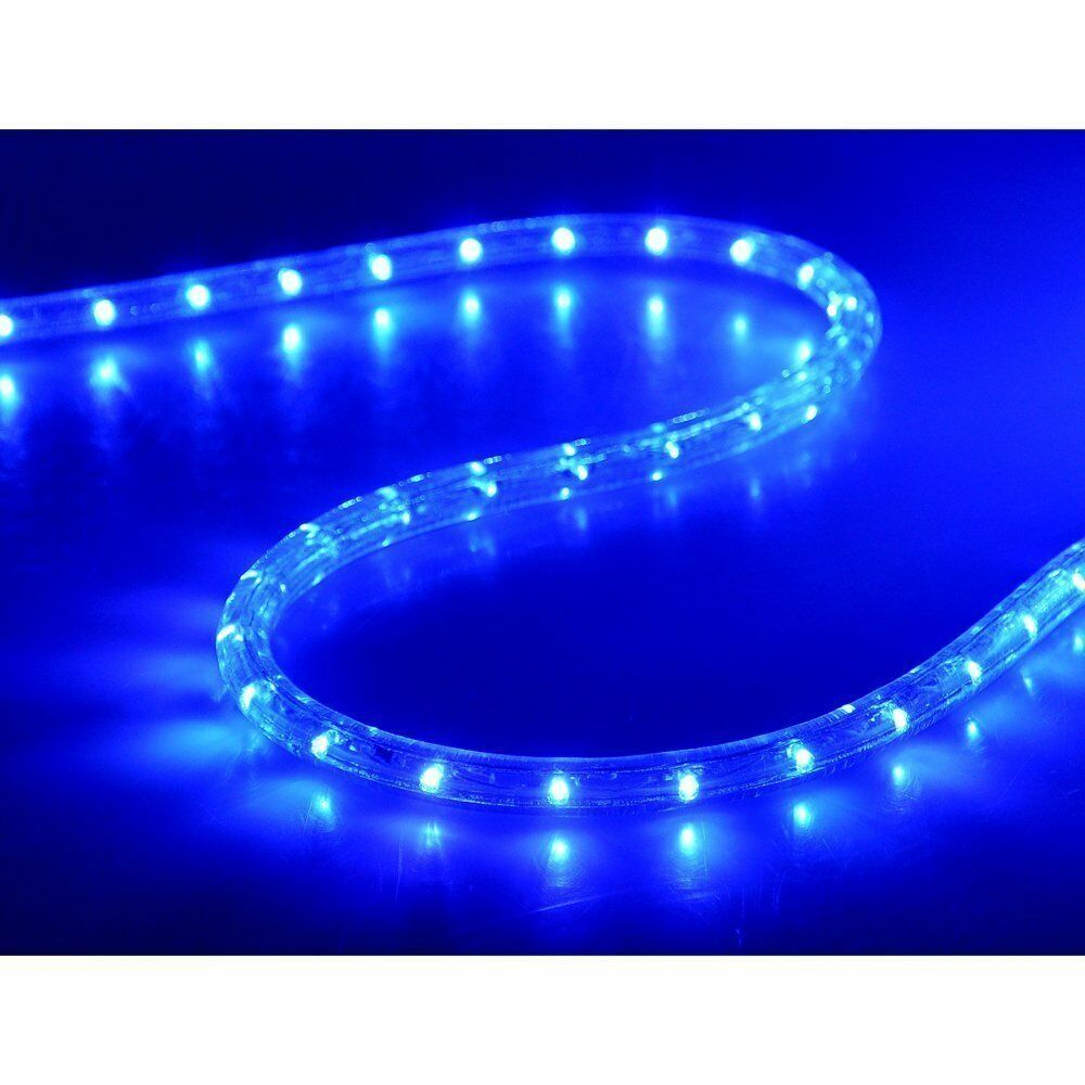 Купить WALCUT - New 50'100'150'LED Rope Light Home In/Outdoor Christmas Decorative Party Blue