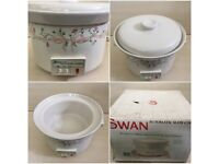 SWAN ETERNAL BEAU AUTOMATIC SLOW COOKER - BOXED LOVELY CONDITION - FULLY WORKING