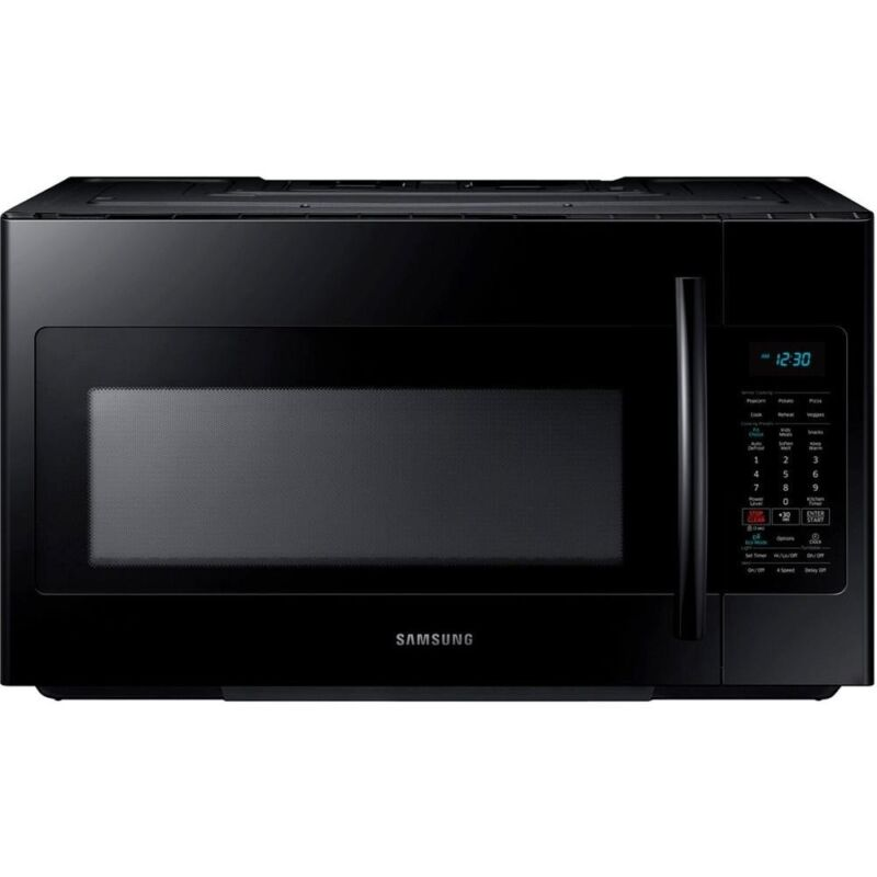 Samsung 1.8 Cu. Ft. Over-the-Range Microwave Black ME18H704SFB