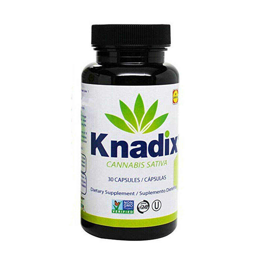 Knadix Hemp Oil. Rich Dietary Supplement. Non-Saturated Fatty Acids. 30 Caps.