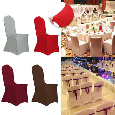 100Spandex Stretch Chair Covers Seat Cover for Wedding Party Banquet Hotel Decor - Wedding Seat Covers