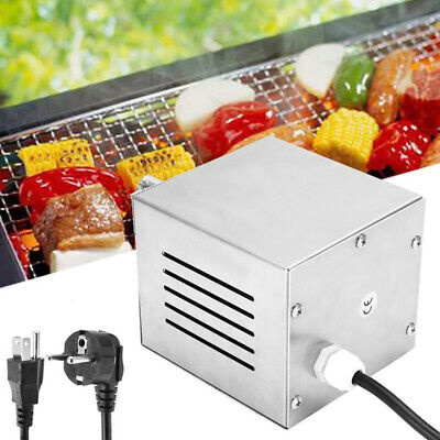 BBQ Barbecue Automatic Eletric Rotating Motor Rotisserie Grill Max 120KG 220Volt