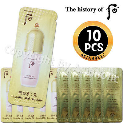 The history of Whoo Gongjinhyang Mi Essential Makeup Base 1ml x 10pcs (10ml) New