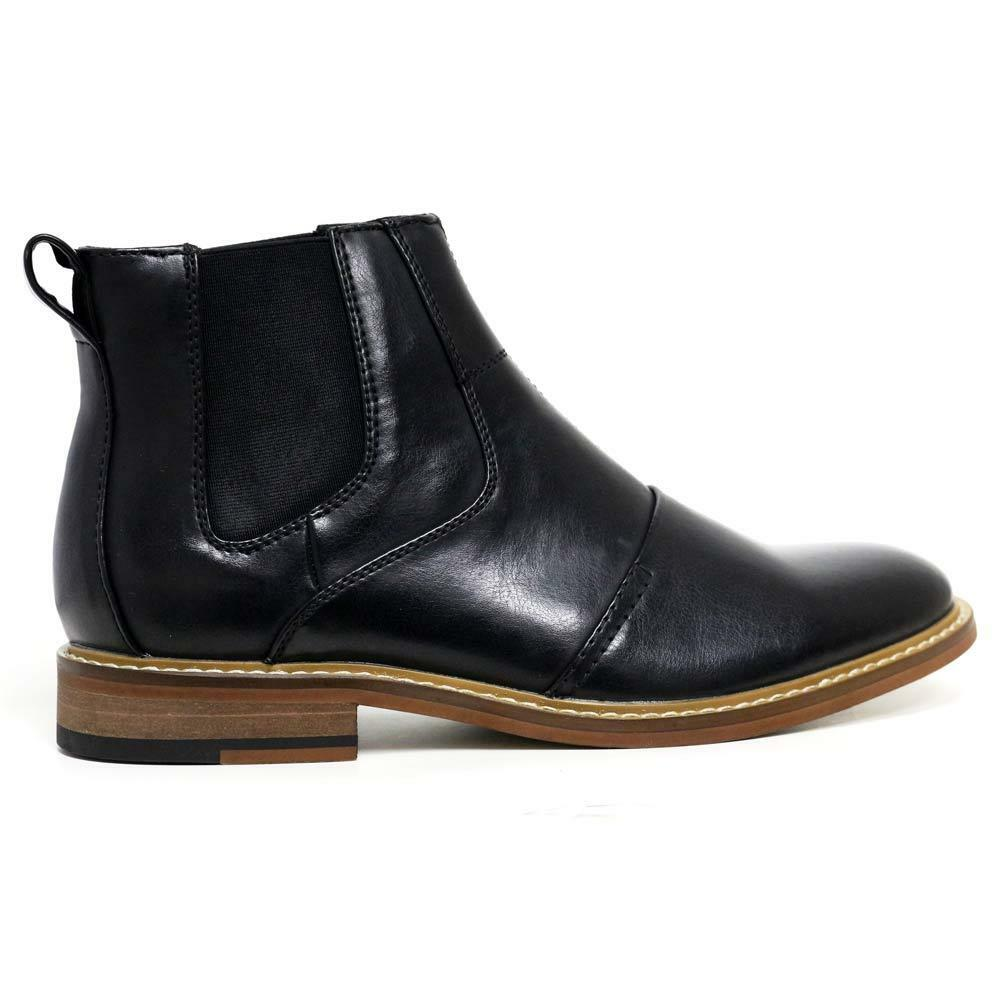 mens chelsea boots smart formal ankle army combat