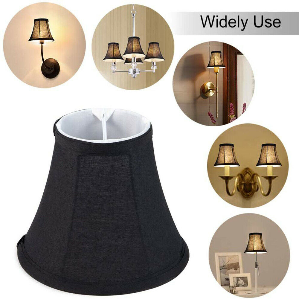 Wellmet Lamp Shades, Chandelier Small Lamp Shade, Clip On