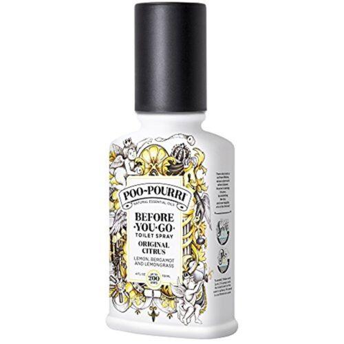 Poo-Pourri Before-You-Go Toilet Spray, Original Citrus, Lemo